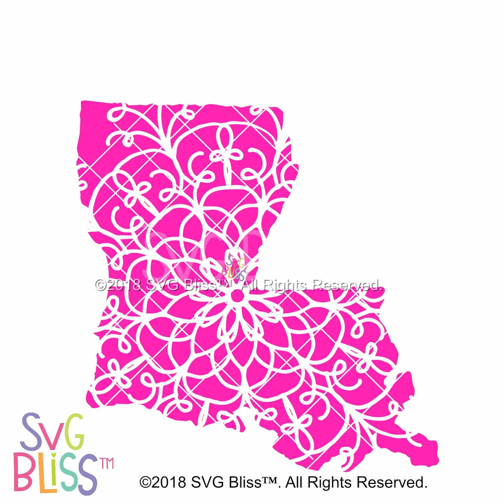 Louisiana Mandala - SVG Bliss