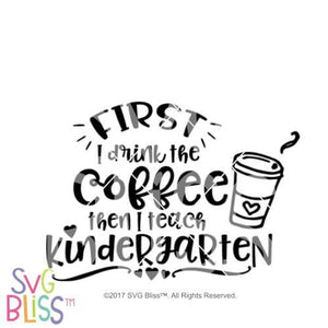 Kindergarten Teacher SVG DXF - SVG Bliss
