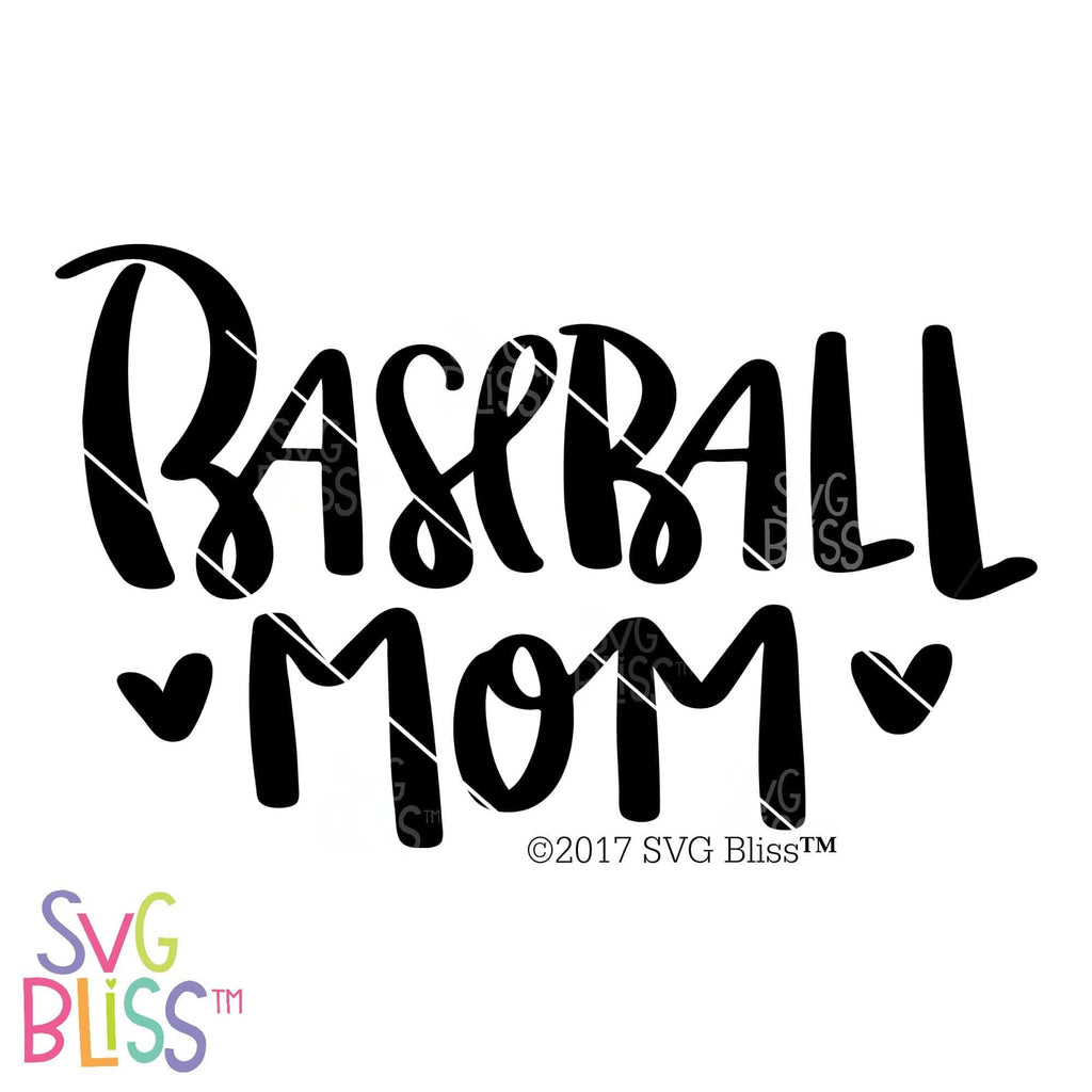 Baseball Mom | SVG EPS DXF PNG