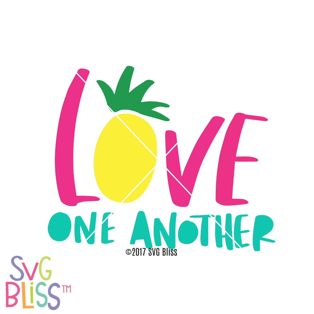 Love One Another SVG DXF - SVG Bliss