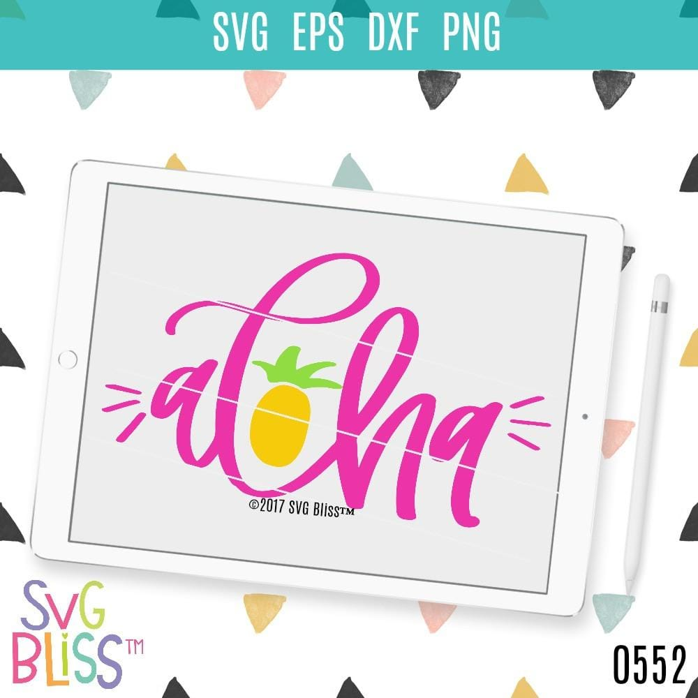 Purchase Aloha $3.25 ©SVG Bliss™