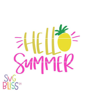 Hello Summer - SVG Bliss