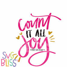 Count It All Joy - SVG Bliss