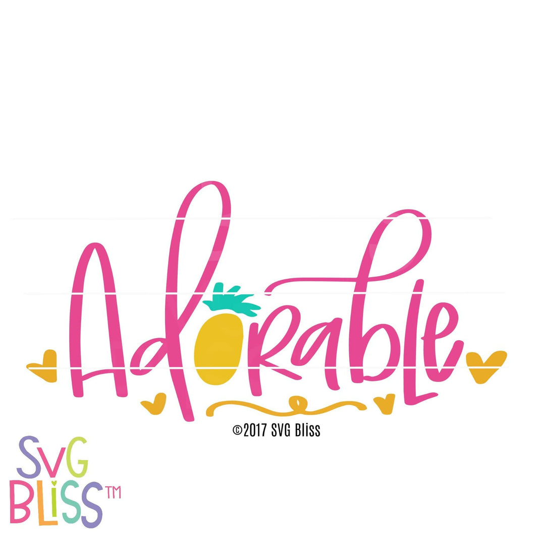 Adorable - SVG Bliss