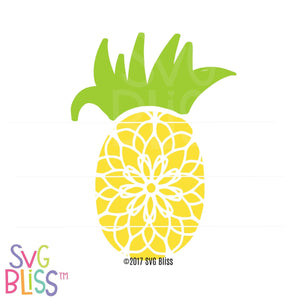 Pineapple - SVG Bliss