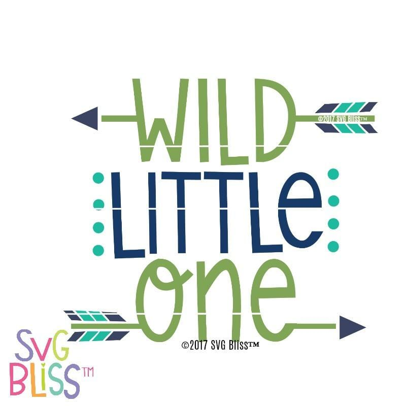 Purchase Wild Little One $3.25 ©SVG Bliss™