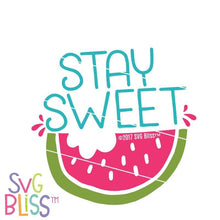 Stay Sweet SVG DXF - SVG Bliss