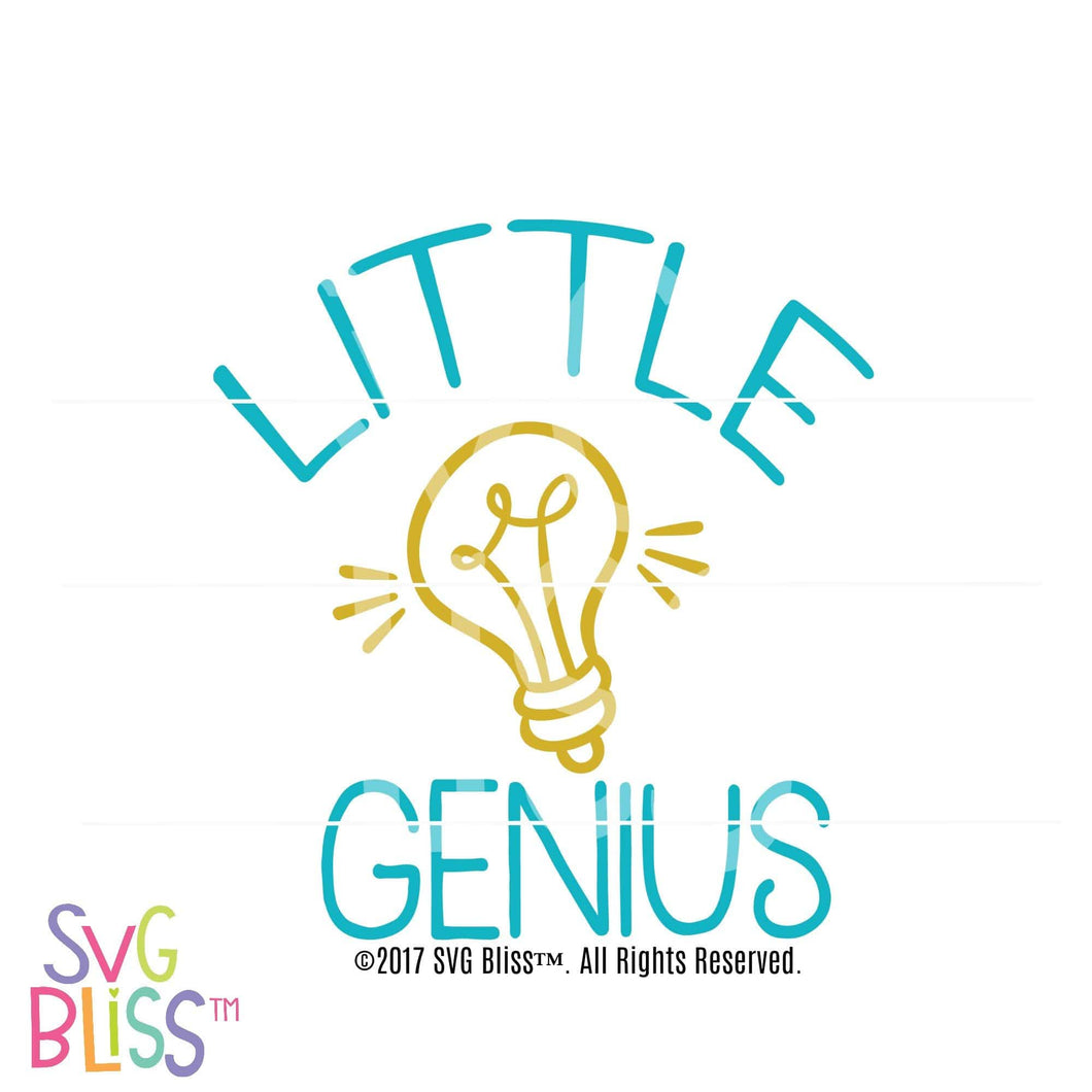 Little Genius - SVG Bliss