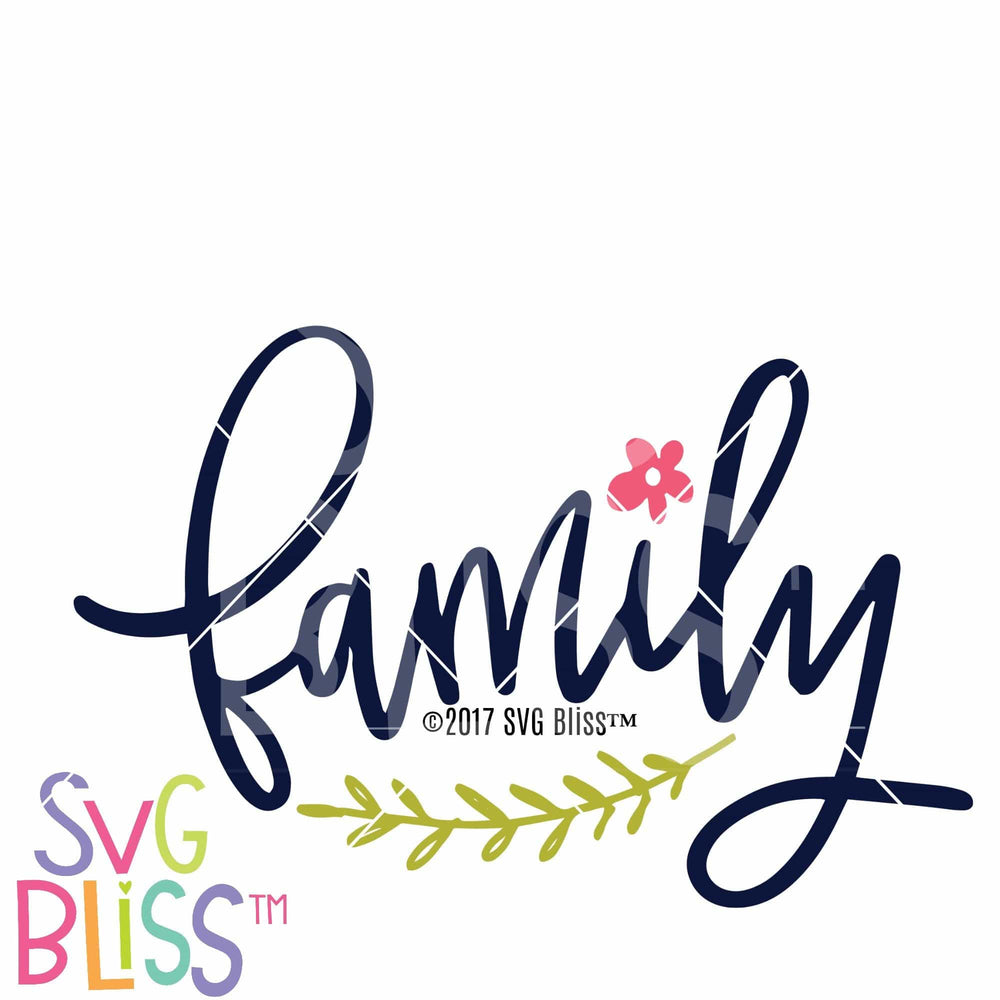 Family - SVG Bliss