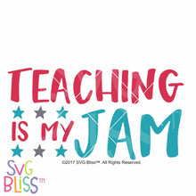 Teaching is my jam - SVG Bliss
