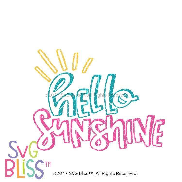 Hello Sunshine - SVG Bliss