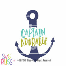 Captain Adorable - SVG Bliss