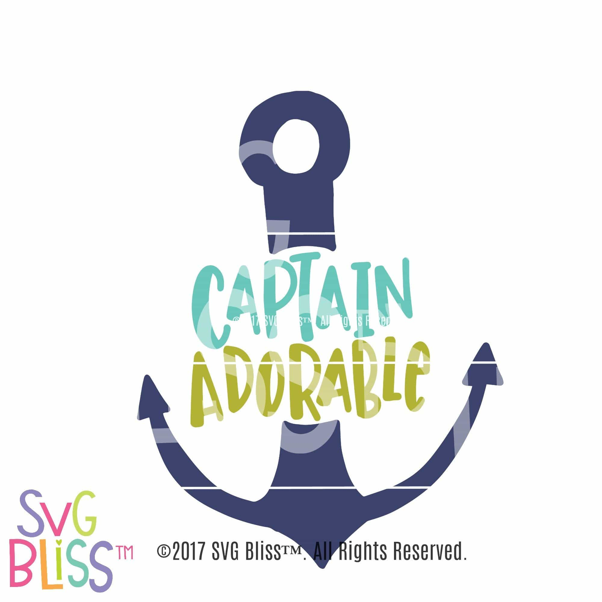 Get Captain Adorable Svg Crafter Files