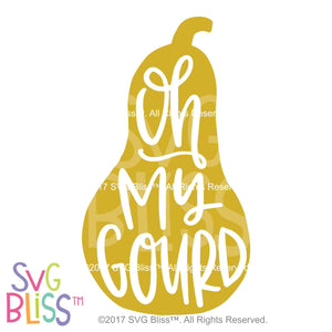 Oh My Gourd - SVG Bliss
