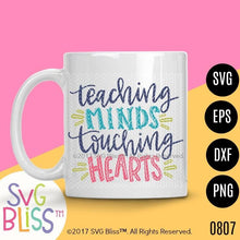 Teaching Minds Touching Hearts - SVG Bliss