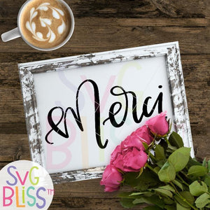 Merci - SVG Bliss