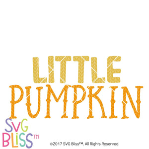 Little Pumpkin- SVG EPS DXF Cutting File - SVG Bliss