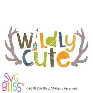 Purchase Wildly Cute SVG DXF $3.99 ©SVG Bliss™