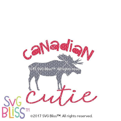 Canadian Cutie-SVG EPS DXF - SVG Bliss