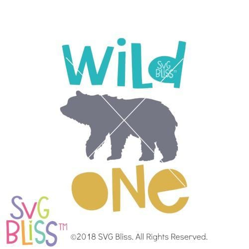 Wild One SVG DXF