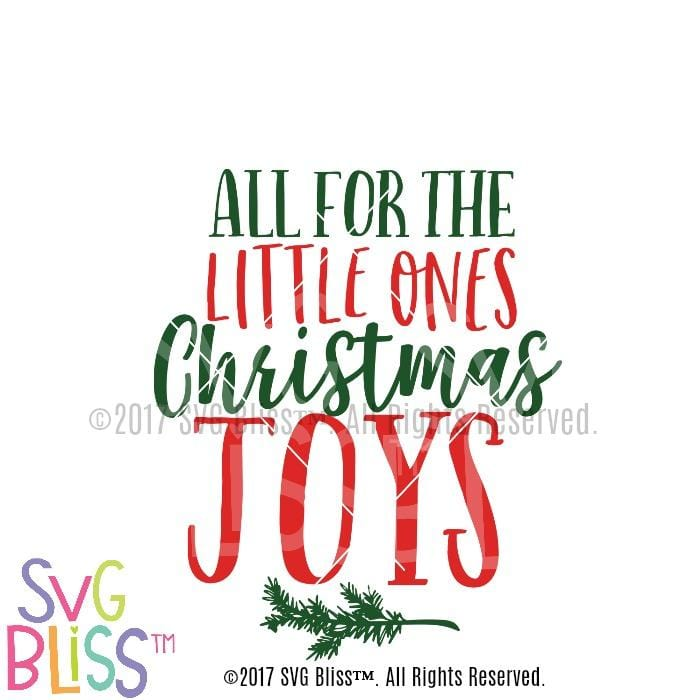 Christmas Joys- SVG EPS DXF - SVG Bliss