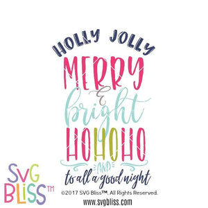Christmas Quote- SVG EPS DXF - SVG Bliss