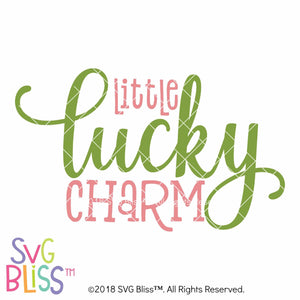 Little Lucky Charm SVG DXF - SVG Bliss
