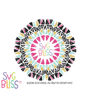 Mandala SVG DXF - SVG Bliss