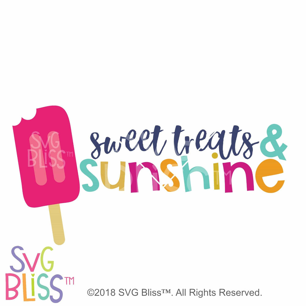 Sweet Treats & Sunshine SVG DXF