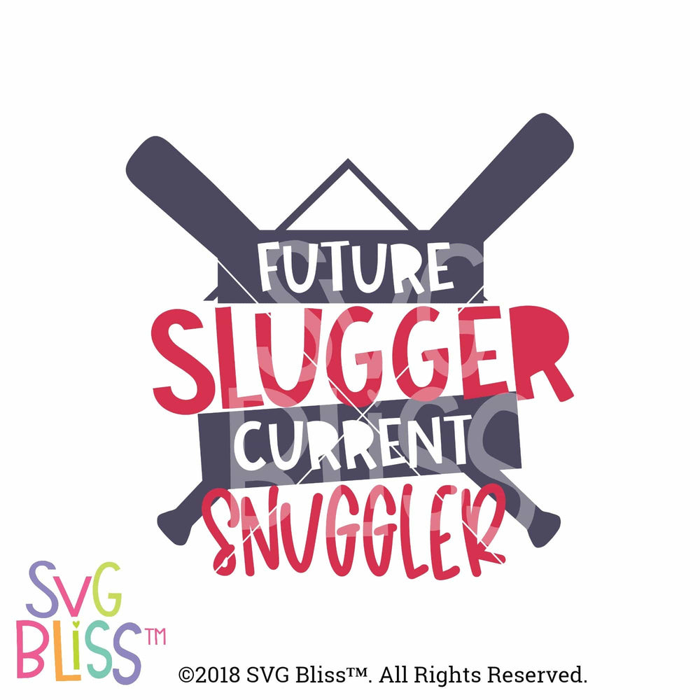 Future Slugger Current Snuggler SVG DXF