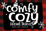 Comfy Cozy Font by Sabrina Schleiger Design. Purchase from svgbliss.com