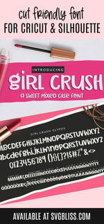 Girl Crush Handwritten Font