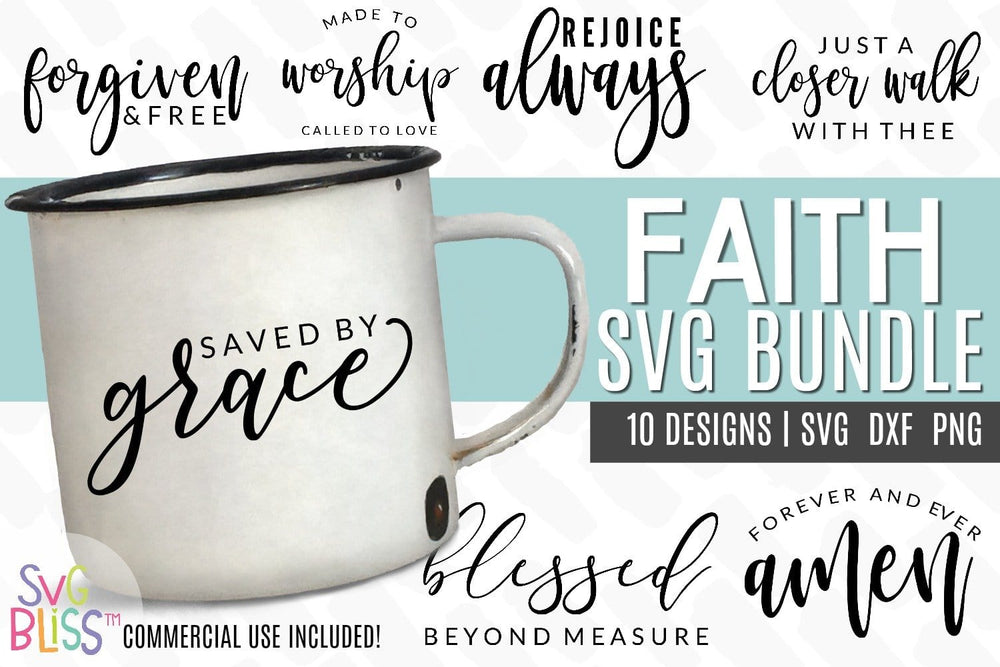 Faith SVG Bundle - SVG Bliss