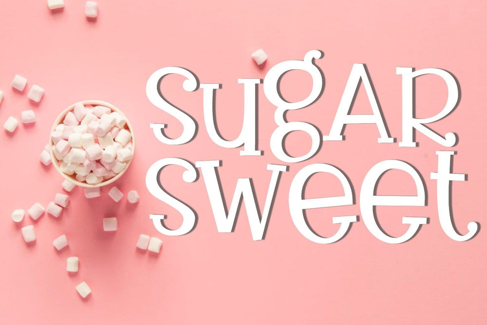 Sugarsweet Handwritten Serif Font - SVG Bliss