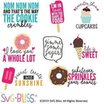 Sweet Treats SVG DXF Bundle