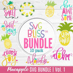 SVG Bliss Bundle | Pineapple Collection - SVG Bliss