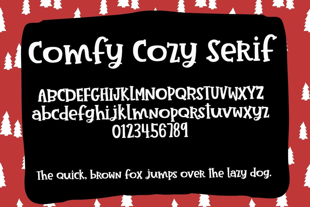 Comfy Cozy Font by Sabrina Schleiger Design