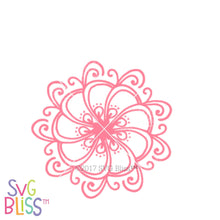 Floral Mandala | SVG EPS DXF PNG - SVG Bliss