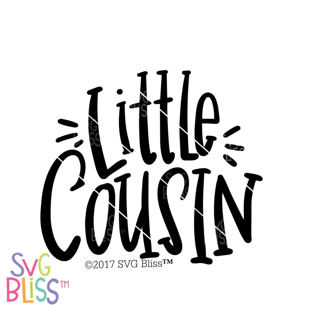 Little Cousin | SVG EPS DXF PNG - SVG Bliss
