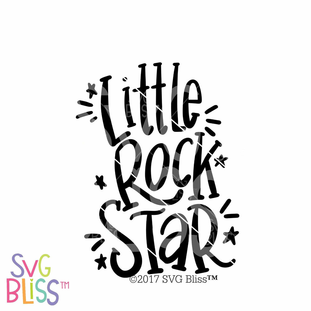 Rock Star | SVG EPS DXF PNG - SVG Bliss