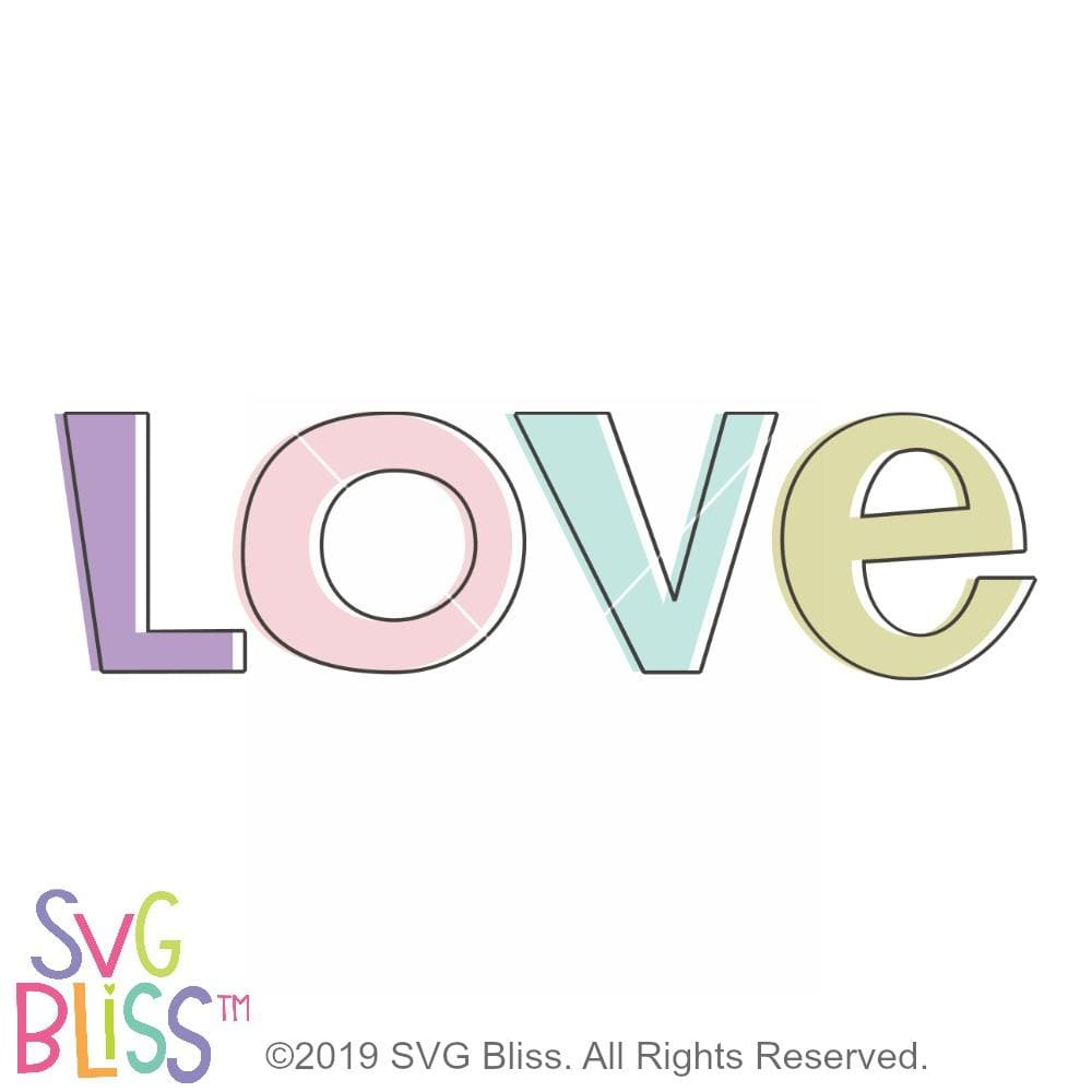 Love SVG DXF - SVG Bliss