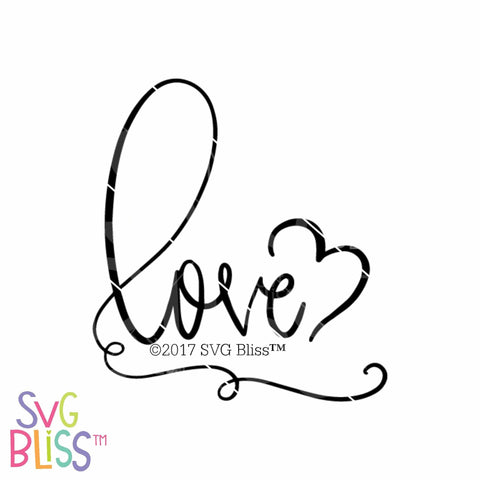 Love | SVG EPS DXF PNG