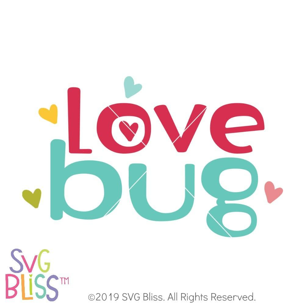 Love Bug SVG DXF
