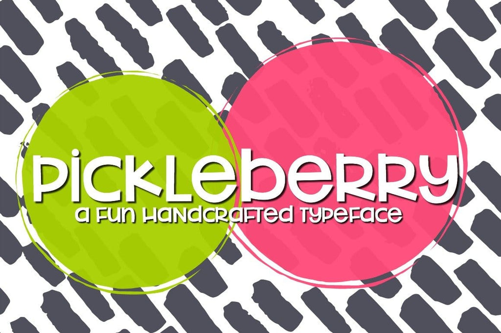 Pickleberry: Handwritten Font