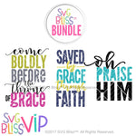 Christian SVG Bundle- SVG EPS DXF Cutting Files - SVG Bliss