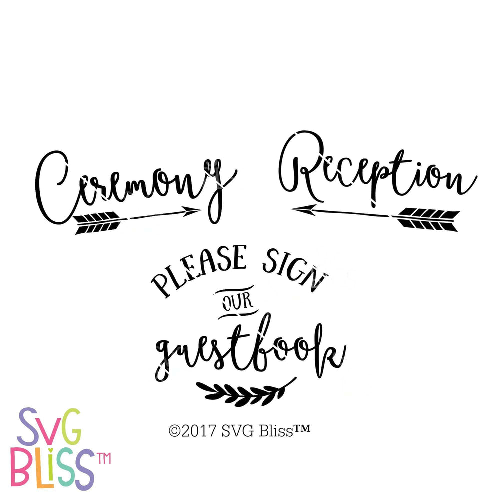 Wedding Day SVG Bundle