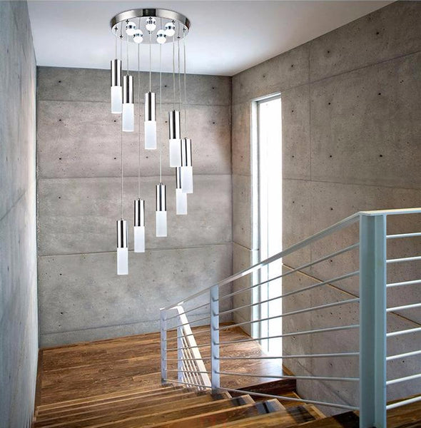 Led chandelier modern simple