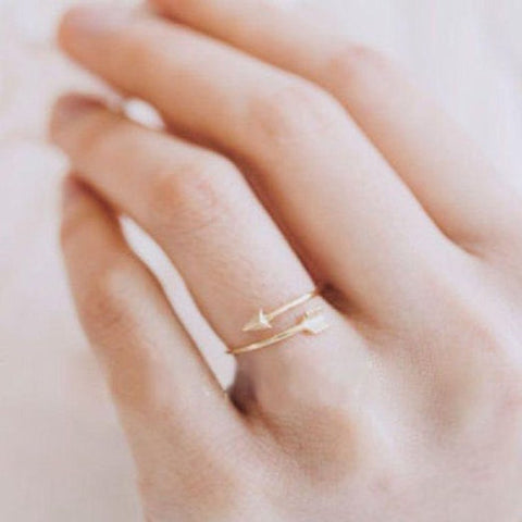 Arrow Wrap, Rings - Elpis Garden