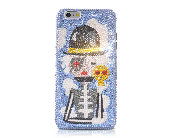 Monocular Pirates Bling Crystal iPhone 6 Cases