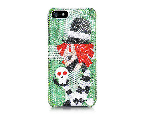Funny Clown Bling Crystal iPhone 6S Plus Cases